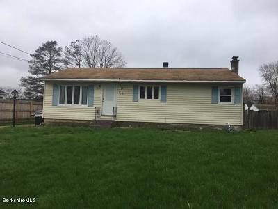 Pittsfield MA Single Family Home For Sale: $172,900