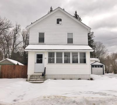 Pittsfield MA Single Family Home For Sale: $142,900