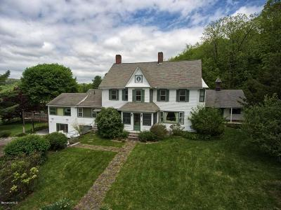 Berkshire County Single Family Home For Sale: 267 Long Pond Rd