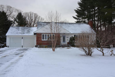 Pittsfield Single Family Home For Sale: 139 Mountain Dr