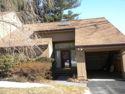 Pittsfield Condo/Townhouse For Sale: 20 Lakecrest Dr #20