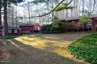 Berkshire County Single Family Home For Sale: 76 Prospect Lake Rd