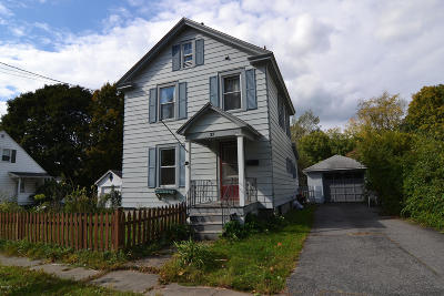 Pittsfield Single Family Home For Sale: 37 Wood Ave