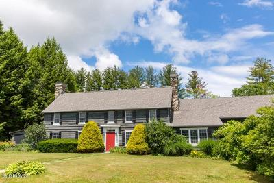 Berkshire County Single Family Home For Sale: 73 Round Hill Rd