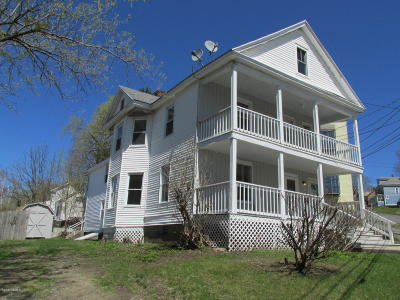 Pittsfield Multi Family Home For Sale: 11-13 Briggs Ave