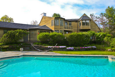 Great Barrington Single Family Home For Sale: 27 Townhouse Hill Rd