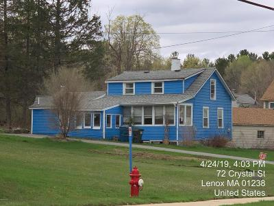 Lenox Single Family Home For Sale: 93 Crystal St