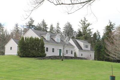 Cheshire, Dalton, Hancock, Hinsdale, Lanesboro, Peru, Pittsfield, Richmond, Windsor Single Family Home For Sale: 34 West Main Rd