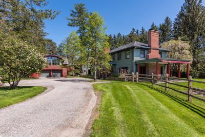 Berkshire County Single Family Home For Sale: 222 Ide Rd