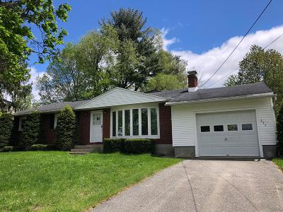Pittsfield Single Family Home For Sale: 275 Eleanor Rd