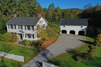 Cheshire, Dalton, Hancock, Hinsdale, Lanesboro, Peru, Pittsfield, Richmond, Windsor Single Family Home For Sale: 21 Summit Rd