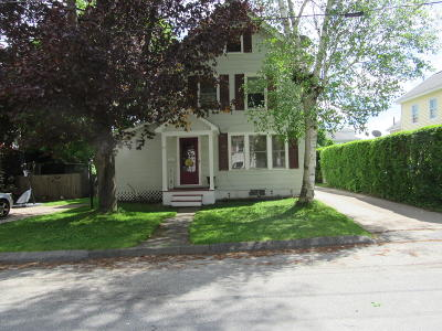 Pittsfield Single Family Home For Sale: 23 Alcove St