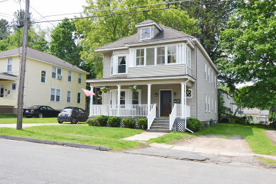 Pittsfield Multi Family Home For Sale: 27 Harding St