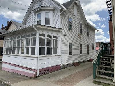 Adams Single Family Home For Sale: 3 School St