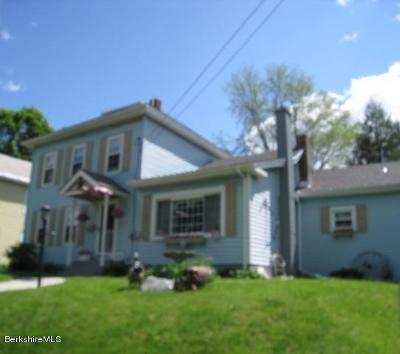 Adams, Clarksburg, Florida, New Ashford, North Adams, Savoy, Williamstown Single Family Home For Sale: 18 Park Ave
