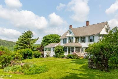 Great Barrington Single Family Home For Sale: 267 Long Pond Rd
