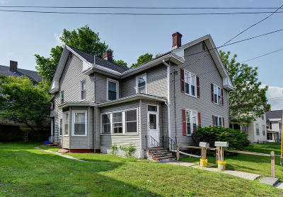 Pittsfield Multi Family Home For Sale: 71 West Housatonic St