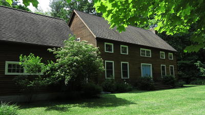 Alford, Becket, Egremont, Great Barrington, Lee, Lenox, Monterey, Mt Washington, New Marlborough, Otis, Sandisfield, Sheffield, South Lee, Stockbridge, Tyringham, West Stockbridge Single Family Home For Sale: 182 Konkapot Rd