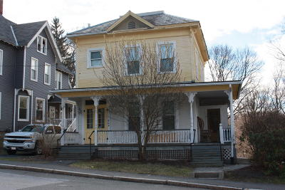 North Adams Single Family Home For Sale: 66 East Quincy St