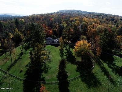 Berkshire County Single Family Home For Sale: 60 Mahkeenac Rd