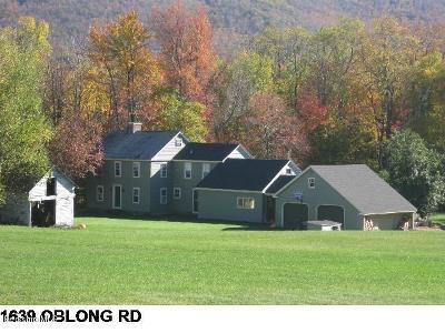 Adams, Clarksburg, Florida, New Ashford, North Adams, Savoy, Williamstown Single Family Home For Sale: 1639 Oblong Rd