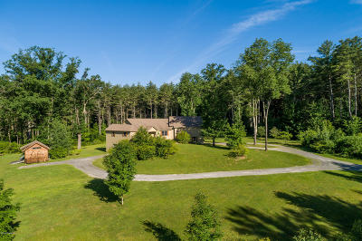 Berkshire County Single Family Home For Sale: 499 Clayton Mill River Rd