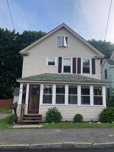 Pittsfield Single Family Home For Sale: 86 Pontoosuc Ave