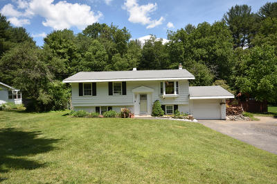 Pittsfield Single Family Home For Sale: 192 Partridge Rd