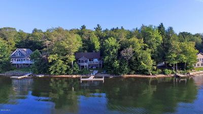 Berkshire County Single Family Home For Sale: 187 South Shore Rd