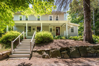 Alford, Becket, Egremont, Great Barrington, Lee, Lenox, Monterey, Mt Washington, New Marlborough, Otis, Sandisfield, Sheffield, South Lee, Stockbridge, Tyringham, West Stockbridge Single Family Home For Sale: 25 Christian Hill Rd