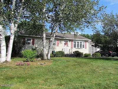 Pittsfield MA Single Family Home For Sale: $193,900