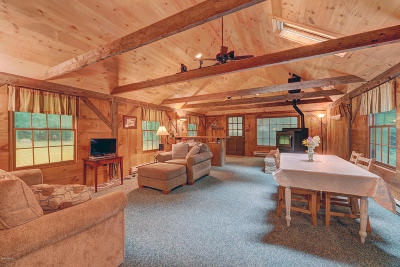 Alford, Becket, Egremont, Great Barrington, Lee, Lenox, Monterey, Mt Washington, New Marlborough, Otis, Sandisfield, Sheffield, South Lee, Stockbridge, Tyringham, West Stockbridge Single Family Home For Sale: 119 Clubhouse Dr
