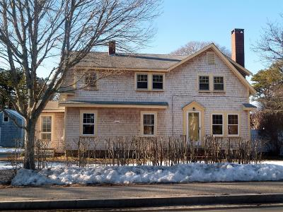Harwich Single Family Home Contingent: 196 Sisson Road