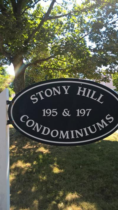 Condo/Townhouse Sold: 195 Stony Hill Road