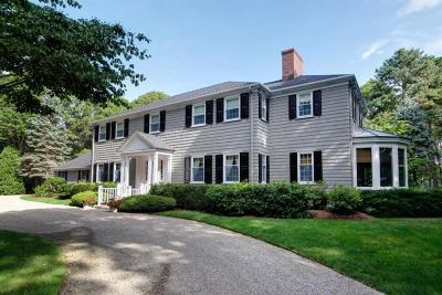 Barnstable Single Family Home For Sale: 390 Eel River Road