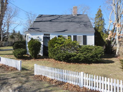 Harwich Single Family Home For Sale: 58 Bank Street