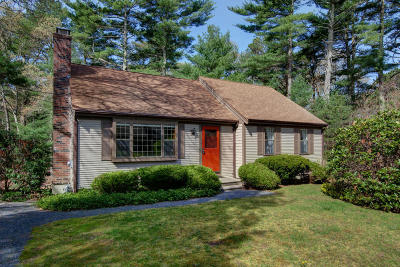 Barnstable Single Family Home Contingent: 39 Black Oak Road