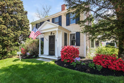 Falmouth Single Family Home For Sale: 585 West Falmouth Highway