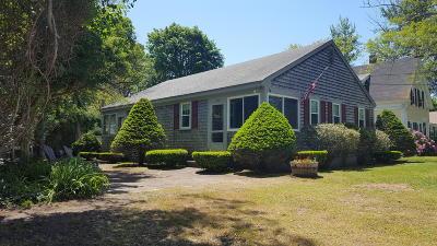 Dennis Single Family Home Contingent: 144 Sea Street