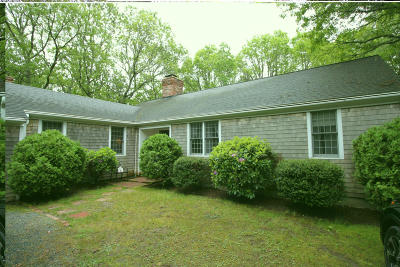 Barnstable Single Family Home Contingent: 71 Little Neck Way