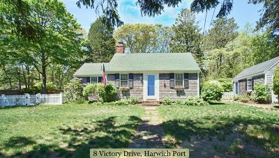 Harwich Single Family Home Contingent: 8 Victory Drive