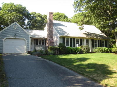 Dennis Single Family Home Contingent: 14 Asack Drive