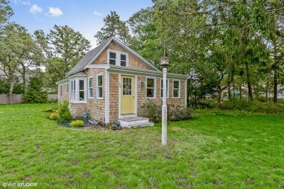 Harwich Single Family Home Contingent: 125 Belmont Road