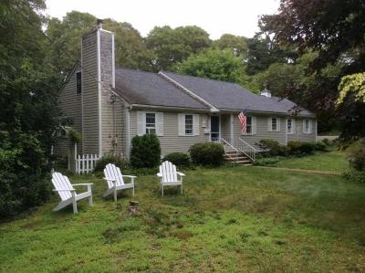 Falmouth Single Family Home For Sale: 243 Teaticket Path