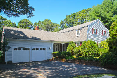 Barnstable Single Family Home Active W/Contingency: 107 Robbins Street