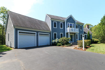 Falmouth Single Family Home For Sale: 189 Hill And Plain Road