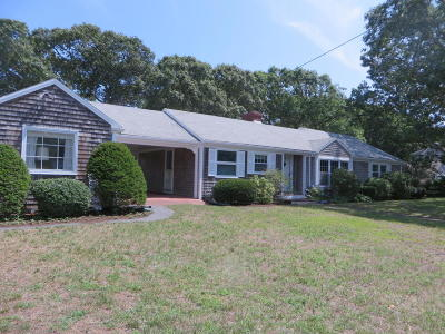 Harwich Single Family Home For Sale: 37 Pleasant Road