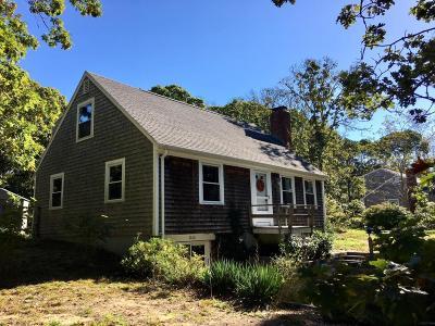 Eastham Single Family Home For Sale: 1160 Massasoit Road