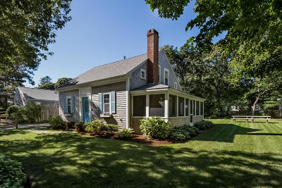 Dennis Single Family Home For Sale: 55 Inman Road