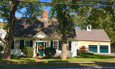 Yarmouth Single Family Home For Sale: 302 Route 6a, Main Street